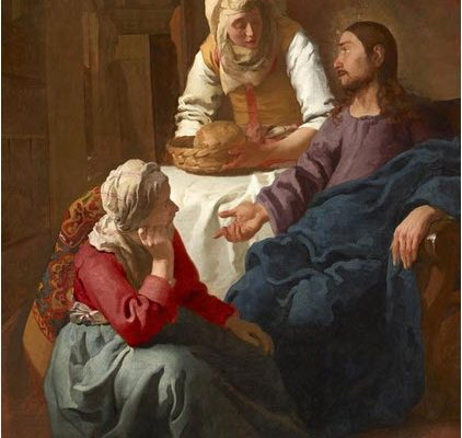 Martha Meets Jesus