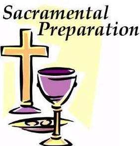 Sacramental Prgramme
